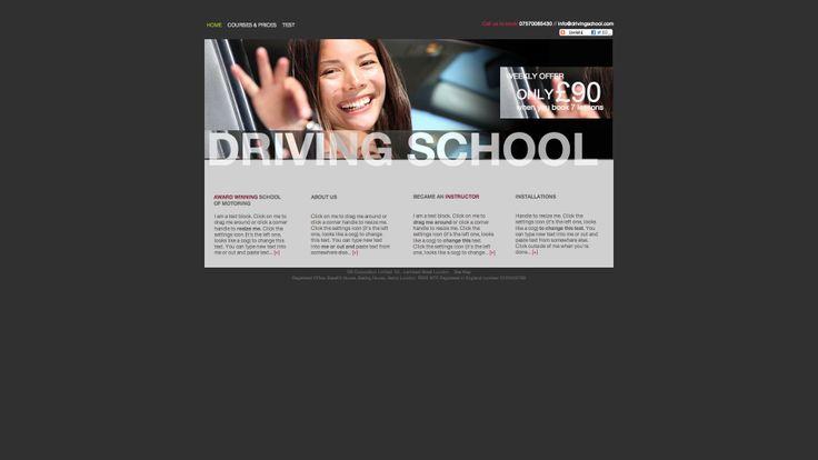 Diseño web para autoescuelas