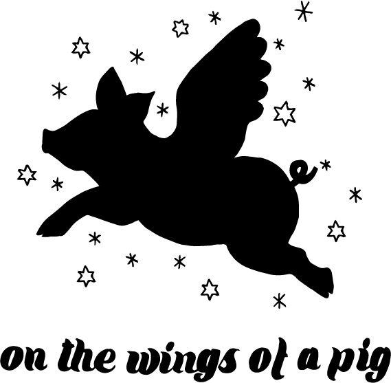 Flying pig John Steinbeck