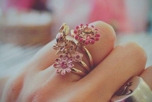 봄 토끼 반지 (Spring Rabbit Ring)