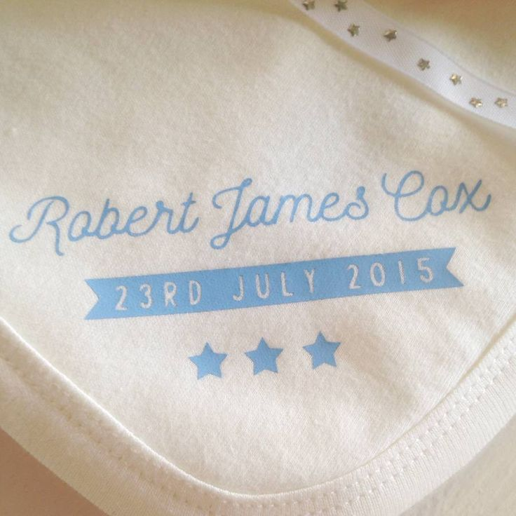 Personalised Baby Blanket.