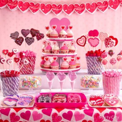 ba9133540cb9cc1b3cfc02dd08a5f97e valentines day treats ideas for valentines day - Sweet Ideas for Valentine's Day Treats - Party City