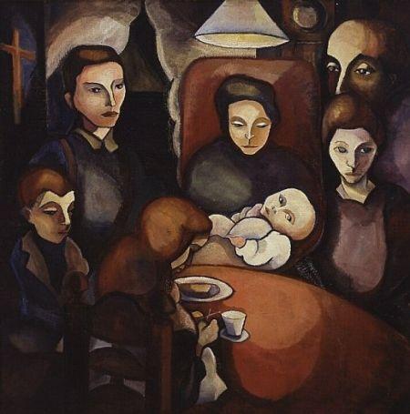 Het gezin - Charley Toorop (1891 - 1955)