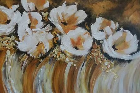 Absztrakt virágok