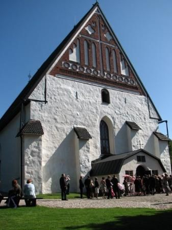 Photo of early medieval Cathedral of Porvoo