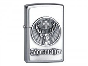 Want a lighter that can be engraved? View this image of Zippo Jagermeister lighter available at We Get Personal. This lighter can be engraved on the backside and will be delivered to you without fuel. #personalisedzippo #engravedzippo #ZippoJagermeister