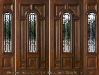 17 best ideas about entry door with sidelights on for Peachtree fiberglass entry doors