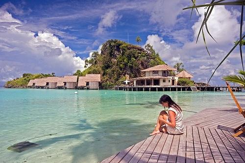Misool Eco Resort, Raja Ampat, West Papua,Indonesia