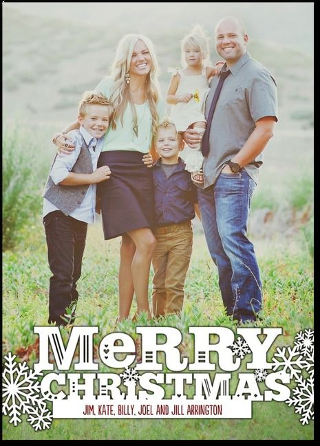 Family Picture Ideas