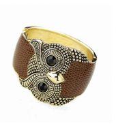 Brown owl bracelet