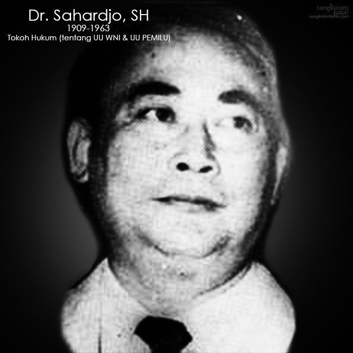 Dr. Sahardjo, SH #indonesiamerdeka #merdeka
