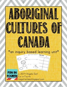 Do you teach Social Studies in Canada? Do you teach about Aboriginal Cultures? You need this file! It contains a variety of activities to meet your curriculum (especially if you teach grade 4 in British Columbia)!