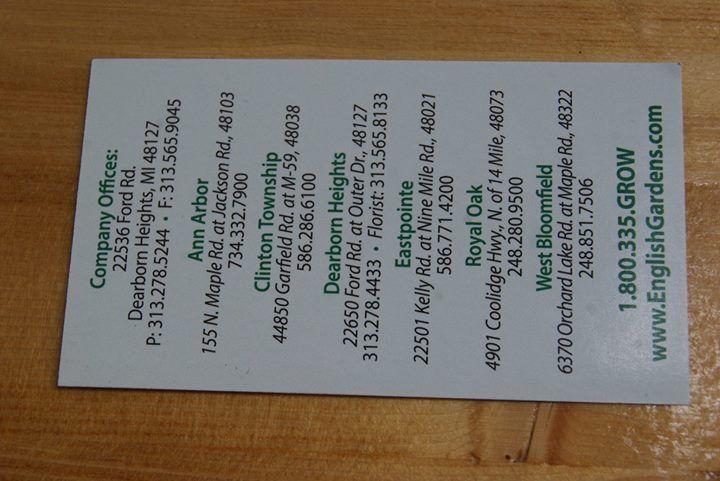 ba91667321dbdac0b55ffc16fe9ddd63  menu facebook - English Gardens Orchard Lake Road West Bloomfield Township Mi