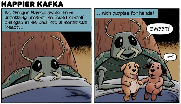 Kafka was not that depressing, in fact, he was quite a funny guy