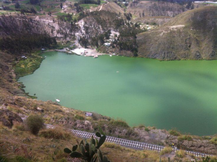 Laguna yambo Ecuador