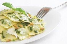 Vegetarische Ravioli mit Pesto | For me online Germany