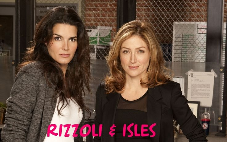 "GNO on TNT! Jane Rizzoli is BPD (Angie Harmon). Maura Isles is CSI (Sasha Alexander). These Beantown professionals are BFF. Also starring ""D-Day"" as a senior cop and ""Jett Jackson"" as a junior one. Based on Tess Gerritsen's novels and characters."