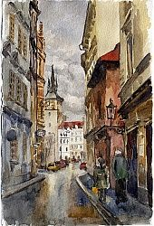 Фотообои Прага, Чехия