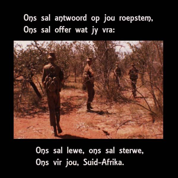 At Thy Call We Did Not Falter - South African Defence Force (SADF)