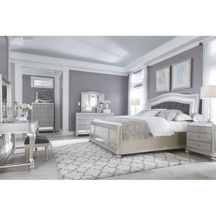 Signature Design by Ashley Coralayne Panel Customizable Bedroom Set & Reviews | Wayfair