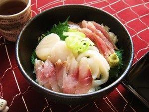 簡単手作りダレの海鮮丼