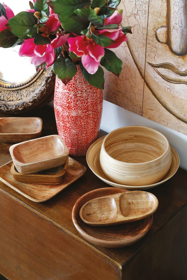 Innova con tu loza e integra platos de #madera a tu mesa. ¡Amamos Tailandia!  #Wood #Deco #Home #Thai #Tailandia #Easy #easytienda #tiendaeasy