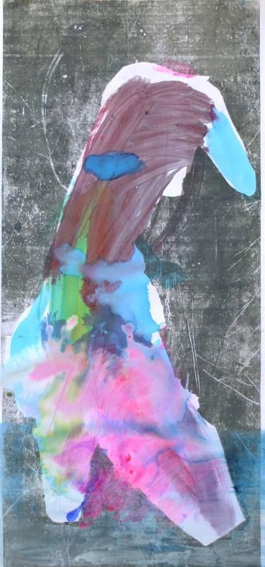 "Saatchi Art Artist ALINA FEDOTOVA; Painting, ""Included in water"" #art"