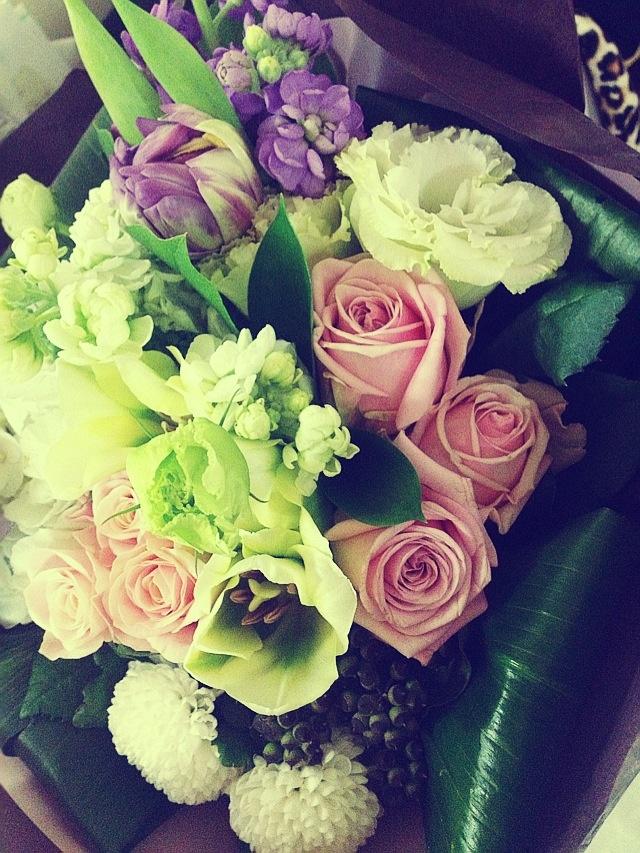 졸업식 꽃!
