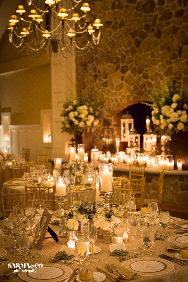 Decorative lights for weddings - Photography The Ryland Inn Laura Clare Design Wedding