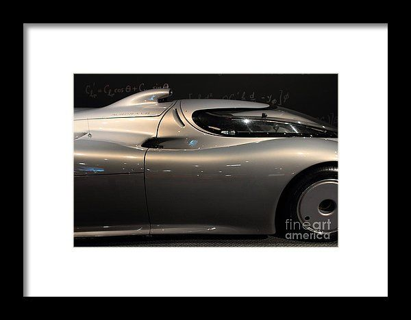 Silver 1992 Oldsmobile Aerotech . 7d17294 Framed Print by Wingsdomain Art and Photography  transportation car cars automobile vehicle 1992 oldsmobile aerotech 1992 oldsmobile aerotech gm general motor general motors aerodynamic airodynamic racecar racecars race car race cars silve…