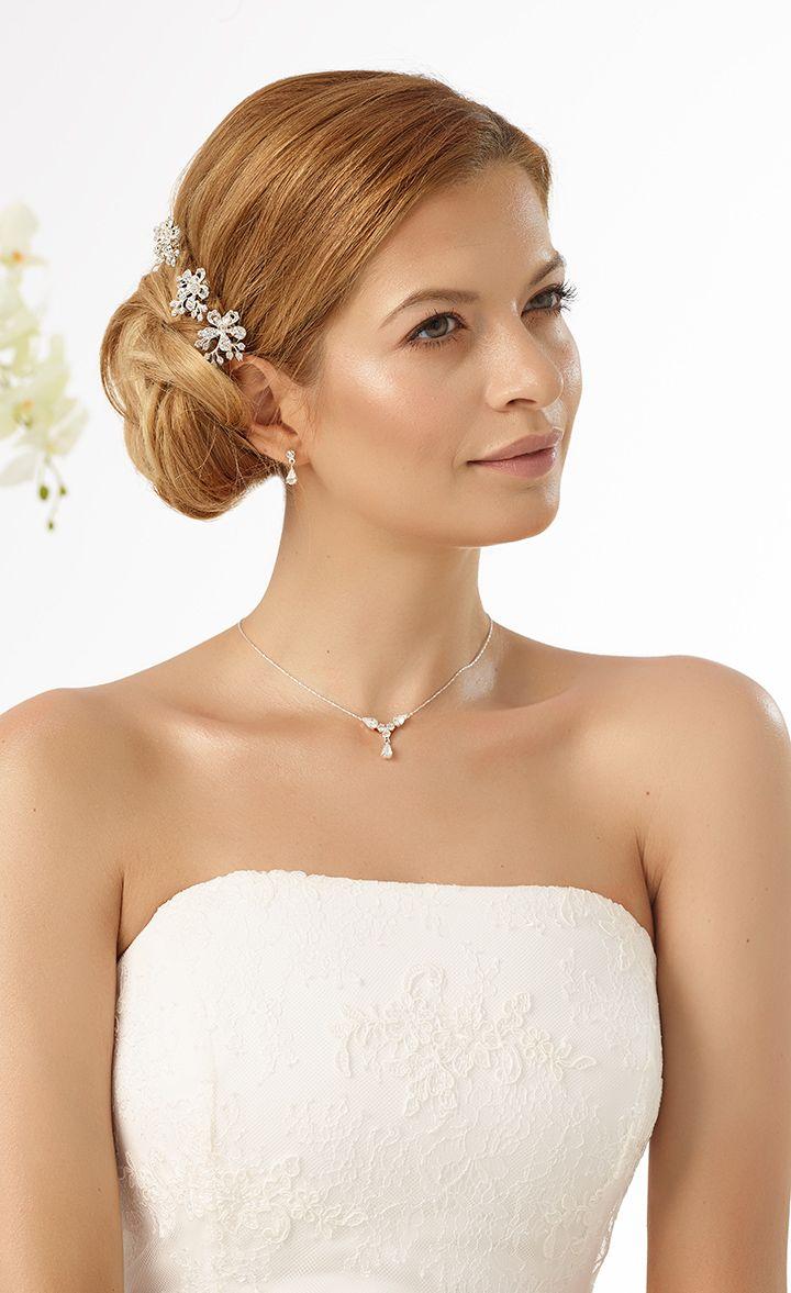 Sparkling curlies M2  from Bianco Evento #biancoevento #hairstyles #weddingaccessories #hairjewellery #weddingideas #bridetobe