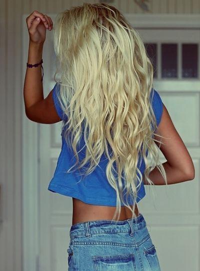 long blonde hair tumblr - Sök på Google