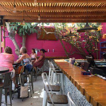 Photo of La Lupita Taco & Mezcal - San José del Cabo, Baja California Sur, Mexico. The outdoor bar area- so cute!
