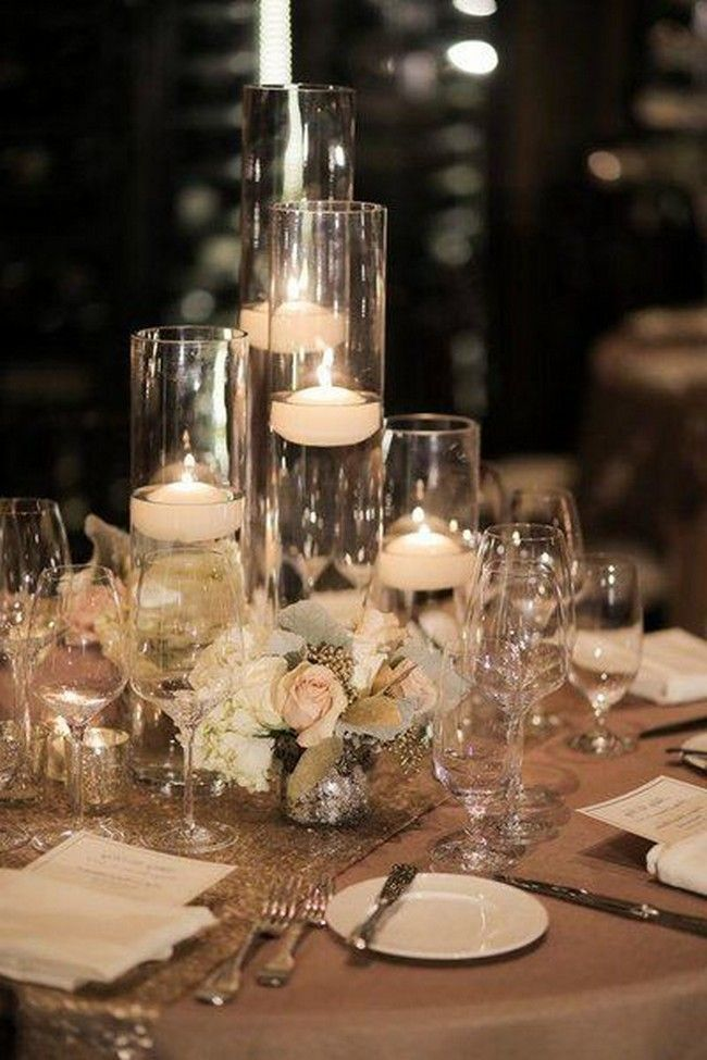 30 Fabulous Floating Wedding Centerpiece Ideas In 2020 Candle