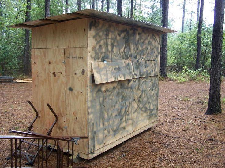 9 Free DIY Deer Stand Plans: The Outdoor Texan's Free Deer Blind Plan