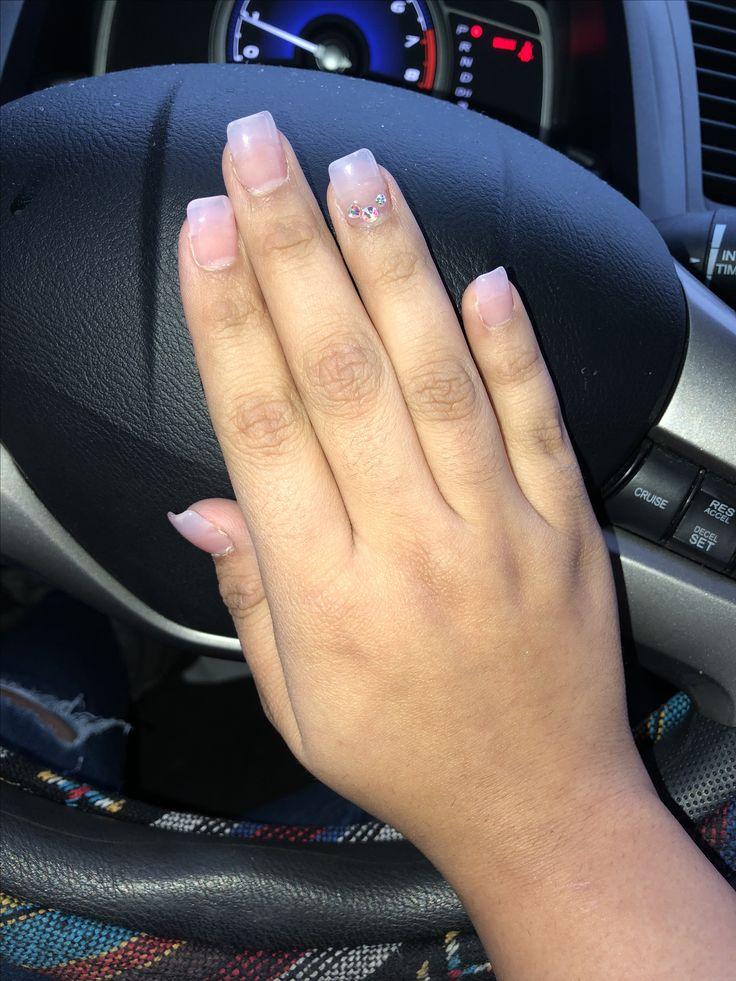 Dnd Clear Pink 🎀 Nails Pink Pedi
