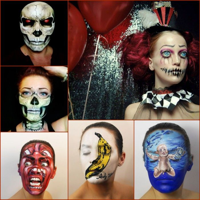 professional halloween make up ideas and cool ideas - Halloween Makeup Professional