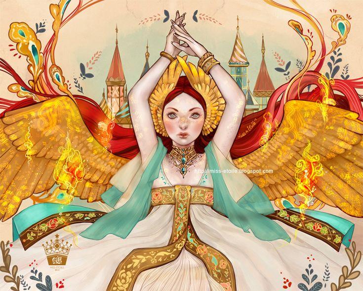 The Firebird by Miss-Etoile.deviantart.com on @deviantART