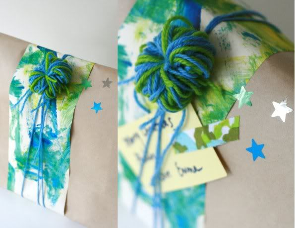 Have fun with Gift Wrapping this Christmas: Brown Paper, Gift Wrapping, Craftsgift Ideas, Gifts Wraps, Wrapping Ideas, Wraps Gifts, Fun Gifts, Wraps Ideas, Wraps Presents