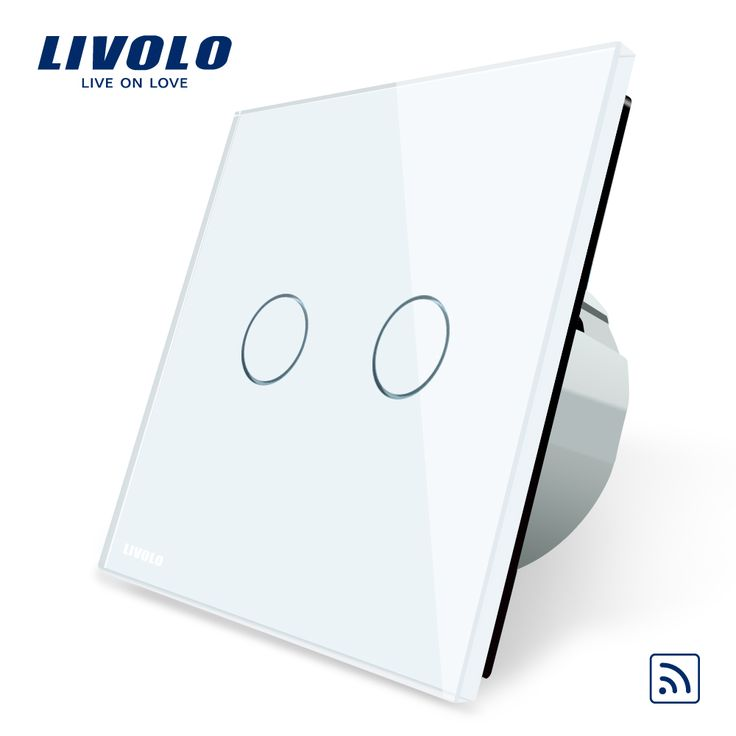 Livolo EU Standard, Remote Switch, Crystal Glass Panel, EU standard,Wall Light Remote Touch Switch+LED Indicator,C702R-1/2/5