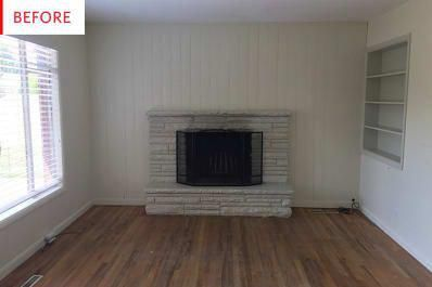 Before and After: This Living Room's Beauty Is Now Off the Charts