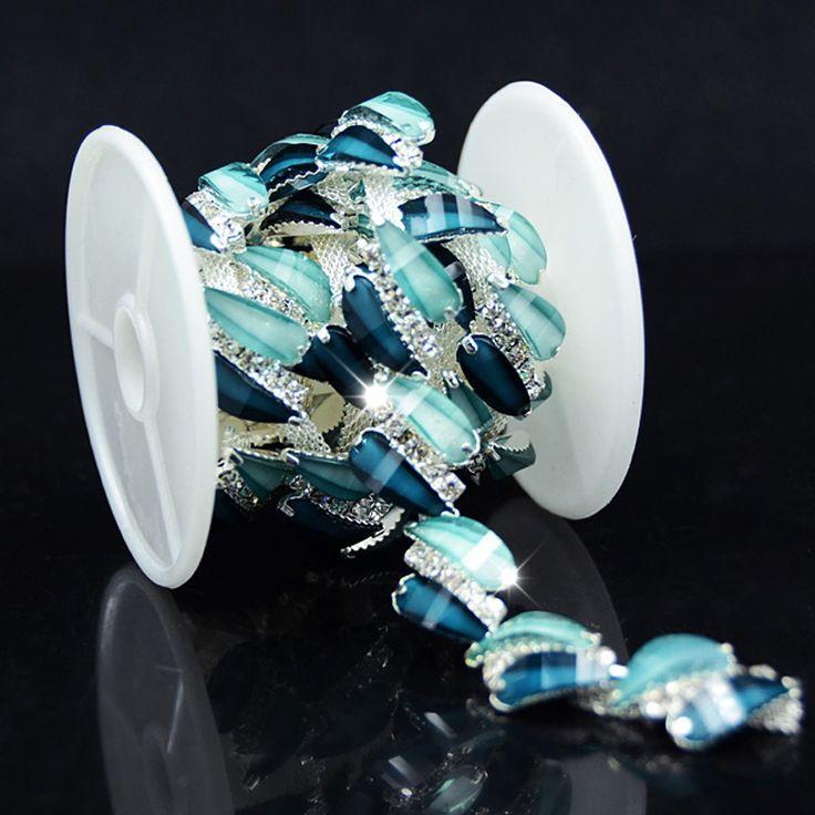 1 quintal Aquamarine Azul Zircon Crystal Clear Rhinestone Nupcial Applique Guarnição de Prata para As Mulheres Vestuário Bolsas Calçados Accesorries em Pedrarias de Home & Garden no AliExpress.com   Alibaba Group