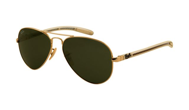 Ray Ban RB8307 Tech Sunglasses Arista Frame Crystal Green Polari