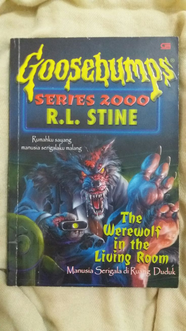 GOOSEBUMPS The Werewolf in the Living Room ✏ R. L. Stine