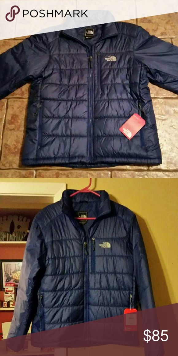 NWT The North Face Men's Jacket size L New With Tags. Originally $150.  The North Face Men's Brecon Puffer Jacket - Bolt Blue The North Face Jackets & Coats Puffers