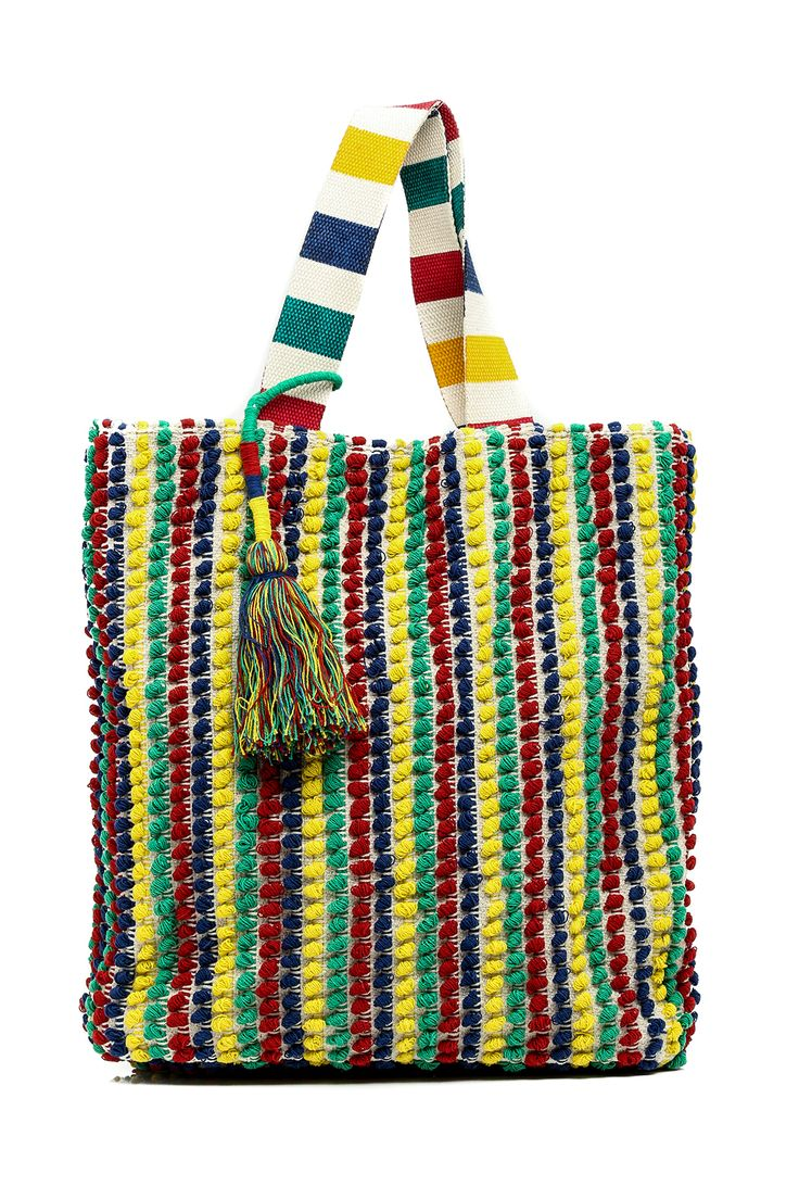 Large hobo multicolored La Zara Inspired. This colorful shoulder bag is perfect for your everyday essentials.   Zara Tote Bags - Totes Bags - Shoulder & Hobo Delray Beach, Florida