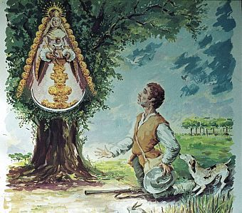 Hallazgo de la Virgen. Tradición e historia