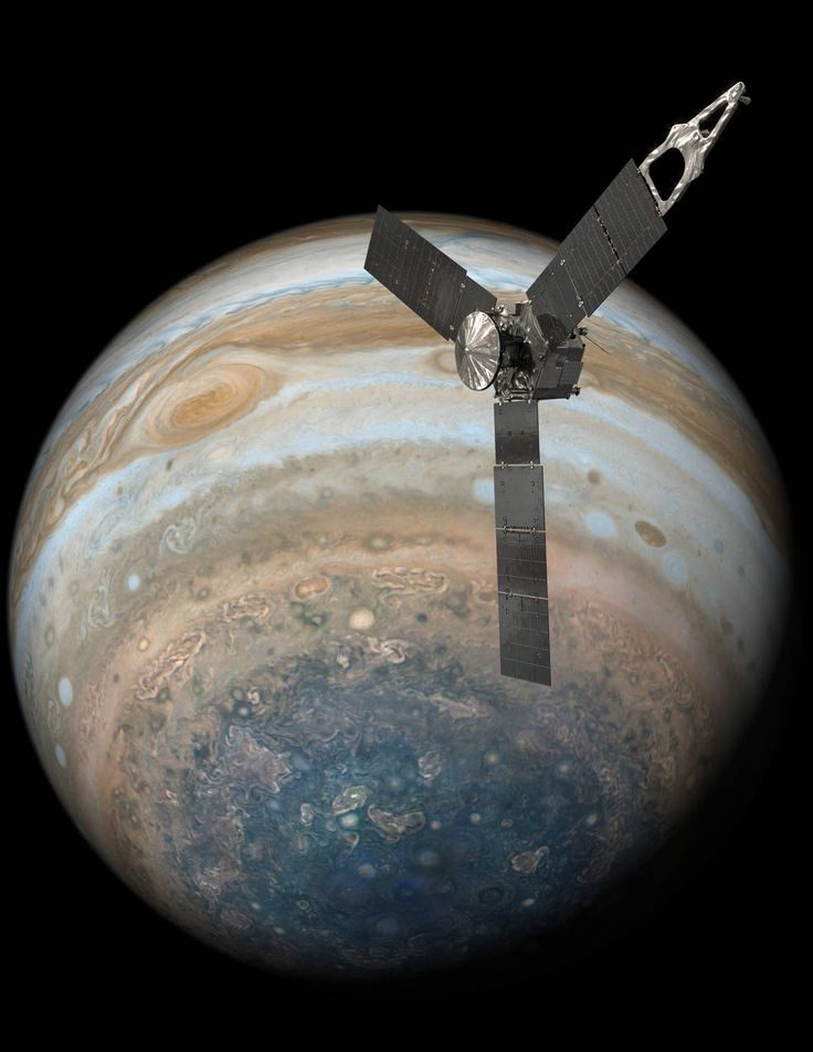 NASA's Juno mission completed a close flyby of Jupiter and its Great Red Spot on July 10, during its sixth science orbit.  All of Juno's science instruments and the spacecraft's JunoCam were operating during the flyby, collecting data that are now being returned to Earth. Juno's next close flyby of Jupiter will occur on Sept. 1.