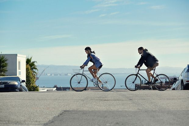Moving In Spring Style! Levi's Commuter Spring/Summer 2015 Lookbook