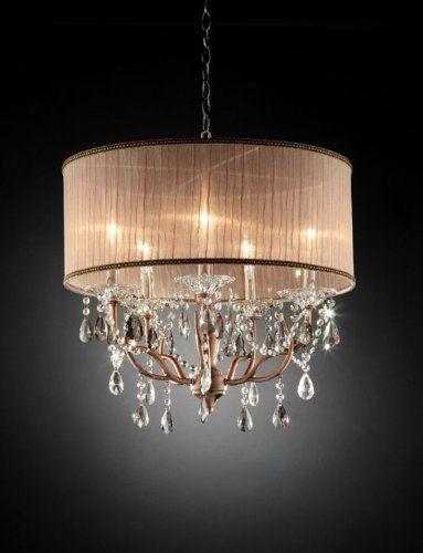 Found it at wayfair ore rosie crystal 6 light ceiling lamp