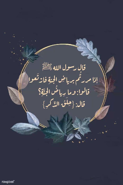 فضل ح ل ق الذ كر Islamic Pictures Islamic Images Instagram